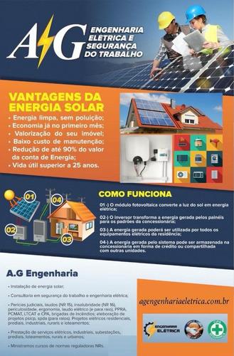 Imagem 1 de 1 de Painel Solar - Energia Solar - Placa Solar