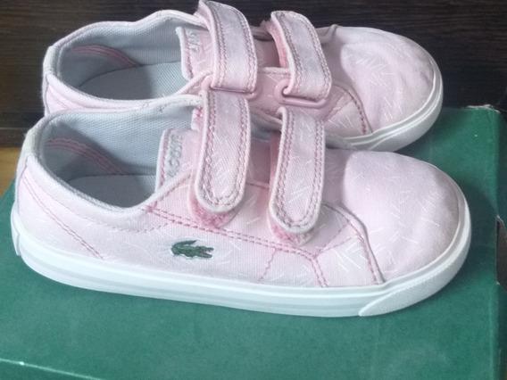 Zapatillas Lacoste De Nena Usadas