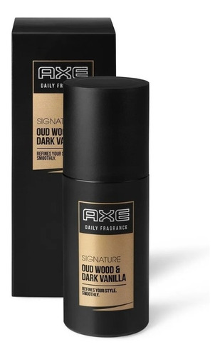 Axe Signature Oud Wood & Dark Vainilla Perfume X 100ml