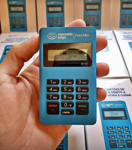 Máquina De Cartão Point Mini Mercado Pago Promoção Só Hoje!
