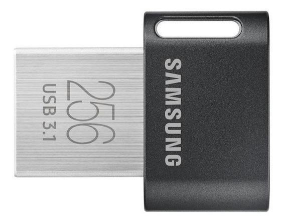 Pendrive Samsung FIT Plus 256GB preto