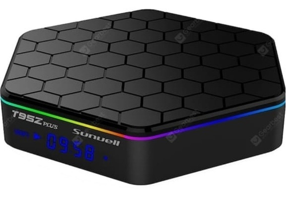 Transforme Sua Tv Em Smartv T95z Plus 4gb De Ram/64gb De Rom