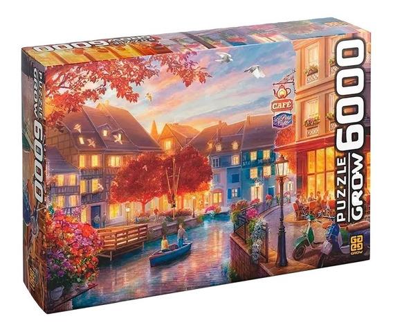 Quebra Cabeça Puzzle Grow Le Petit Café 6000 Peças