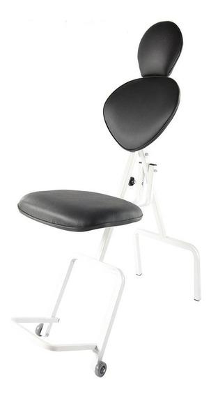Cadeira De Maquiagem Dobrável Poltrona Limpeza De Pele