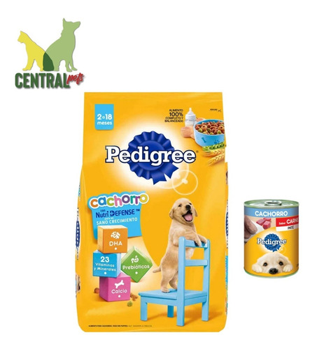 Pedigree Cachorro 21kg + Lata De Pate 340g + Envío Gratis !!