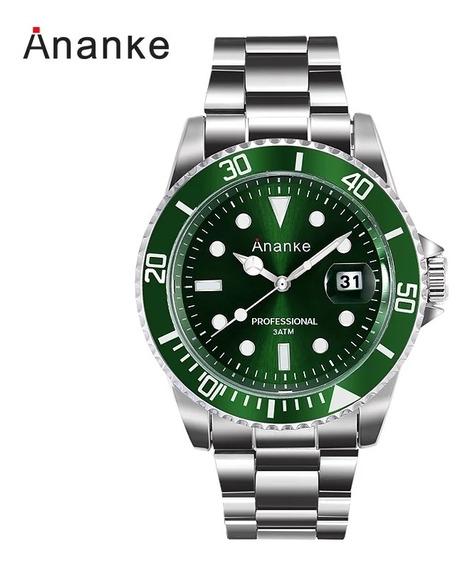 Saldão!! Relógio Masculino Casual Ananke