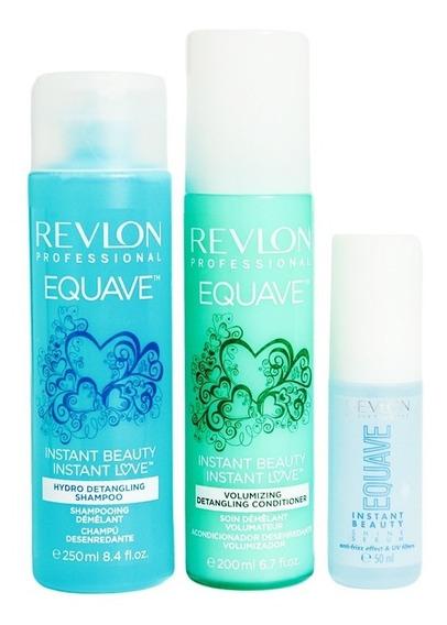 Revlon Equave Instant Beauty Shampoo + Spray + Serum Volumen