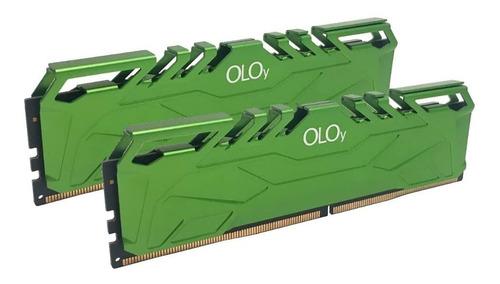 Imagem 1 de 1 de Oloy Ddr4 Ram 16gb (2x8gb) 3200 Mhz Cl16 1.35v