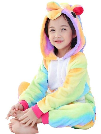 Pijama Unicornio Arcoiris Infantil Y Envío Gratis.