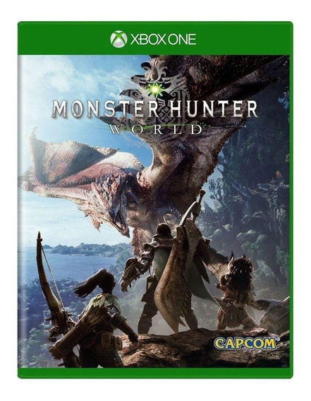 Monster Hunter World Xbox One Mídia Física Pronta Entrega