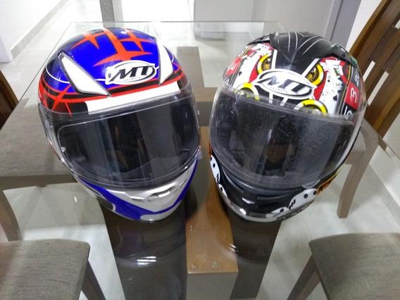 2 Capacetes Mt Helmets