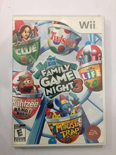 Family Game Night 3 Nintendo Wii