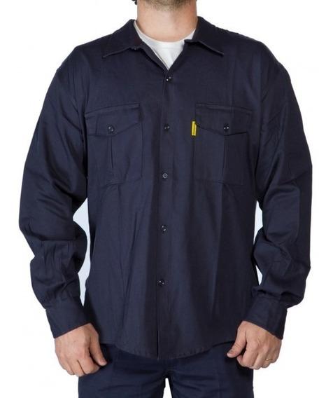 Camisa De Trabajo Pampero Original Tela Alpargata 38 Al 58