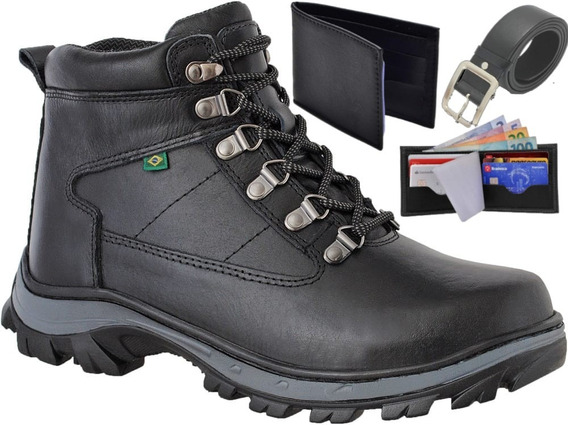 Bota Masc Advent Macboot Bull Terrier Timberland Couro