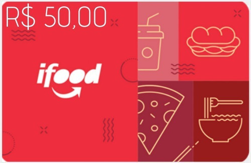 Imagem 1 de 1 de Ifood Card 50 Reais Gift Card
