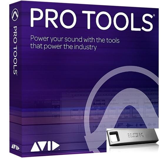 Novo Avid Pro Tools - Licença Vitalícia + Ilok3 Em 12x S/j