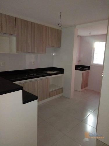 Apartamento Com 3 Dormitórios À Venda, 77 M² Por R$ 360.000,00 - Cristo Redentor - Caxias Do Sul/rs - Ap0593