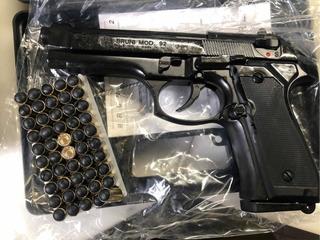 Pistola De Fogueo Traumat Bruni Mas 50 Munic