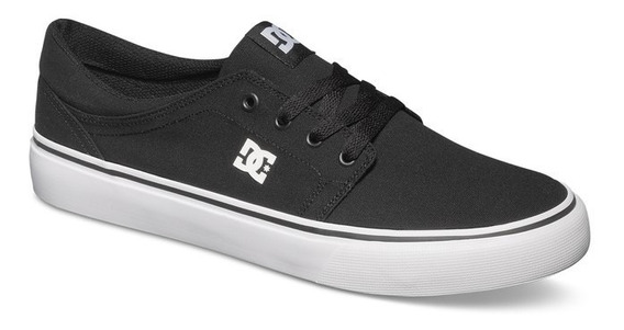 Tênis Dc Shoes Trase Tx - Black White