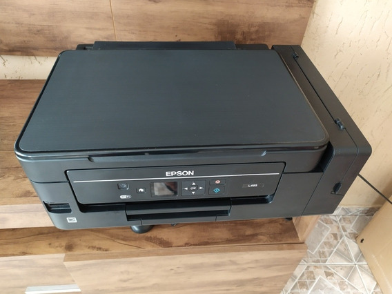Impressora Multifuncional L495 Da Epson