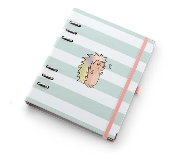 Caderno A5 Com Ferragem Riccio - Ótima Gráfica
