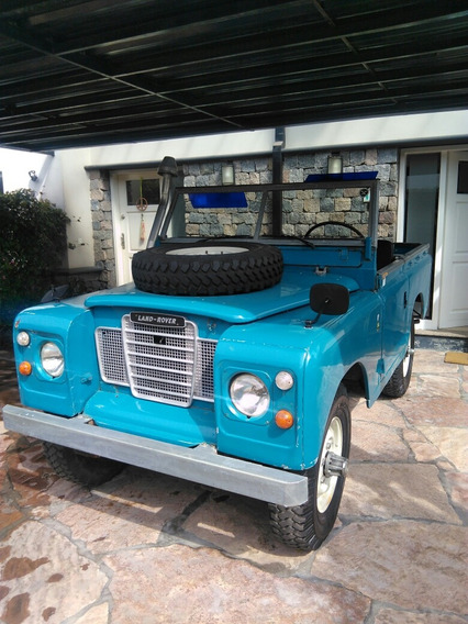 Land Rover Santana 88 Pick Up Techo Des