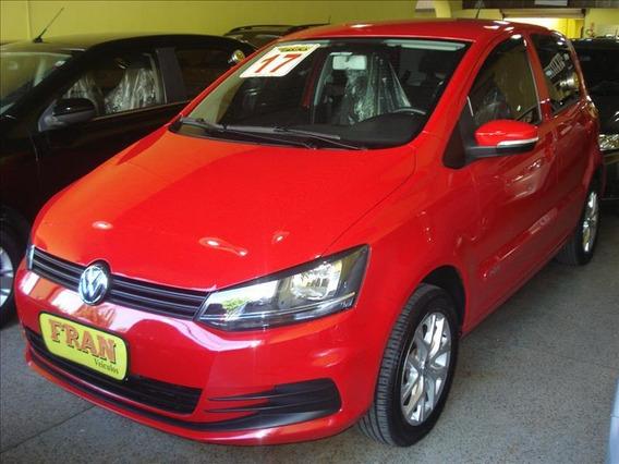 Volkswagen Fox Trendline Motor 1.0 2017 Vermelho