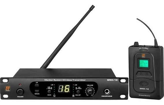 Sistema Monitor Sem Fio Staner Srm 1e Srm 1r In Ear