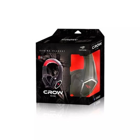Fone C/ Mic Gamer Crow Ph-g100bk C3t