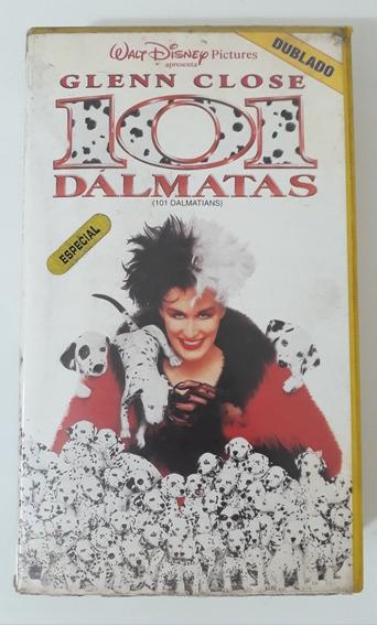 Filme Fita Vhs- 101 Dálmatas- Dublado- Ano 1996