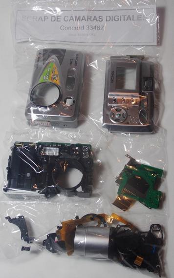 Cámara Digital Concord 3346z - Es Scrap Para Repuestos