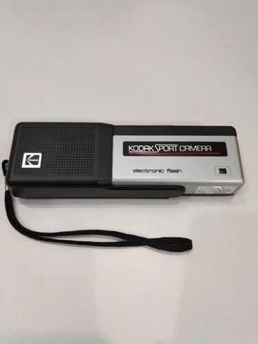 Câmera Kodak Sport Camera Com Flash Eletrônico Funcionando