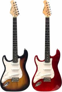 Excelente Guitarra Electrica Stratocaster Parquer Zurda
