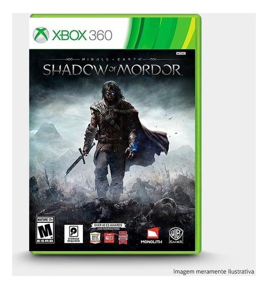 Middle Earth Shadow Of Mordor - Original Para Xbox 360 Novo