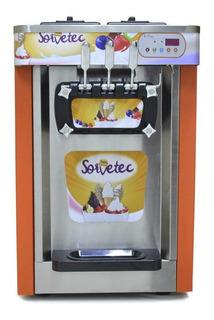Máquina De Sorvete Expresso Açaí E Frozen Yogurt Sorvetec