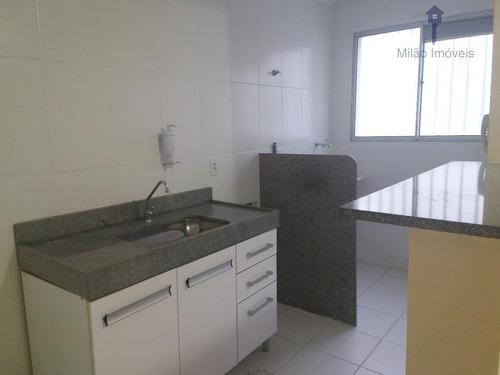 Apartamento Com 2 Dormitórios À Venda, 47 M² Por R$ 165.000 - Parque Sicília - Campolim - Votorantim/sp - Ap0669