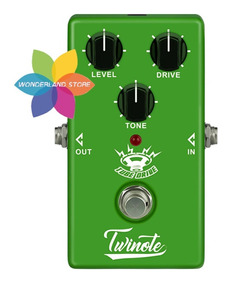Pedal Nux Od-3 Twinote Tube Drive Overdrive True Bypass