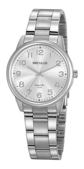 Relógio Feminino Seculus 20866l0svna3 Prateado