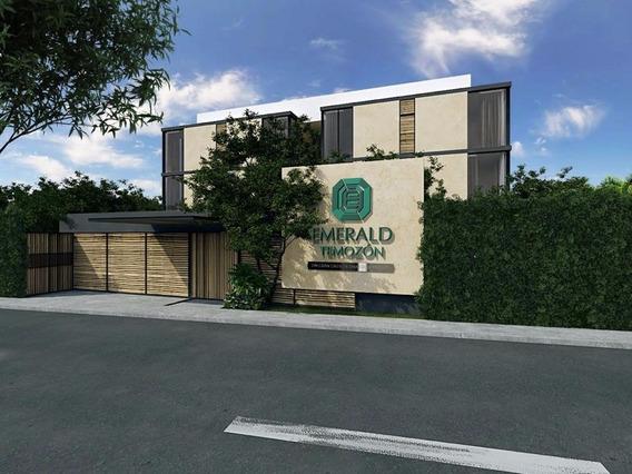 Departamento Nuevo En Planta Baja En Venta Con Amenidades En Emerald Temozón