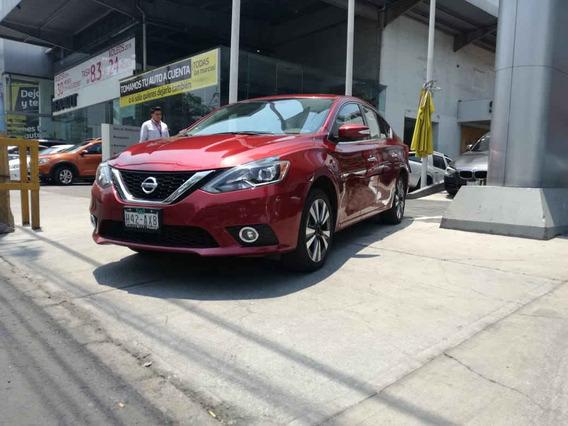 Nissan Sentra 2018 4p Exclusive L4/1.8 Aut Nave