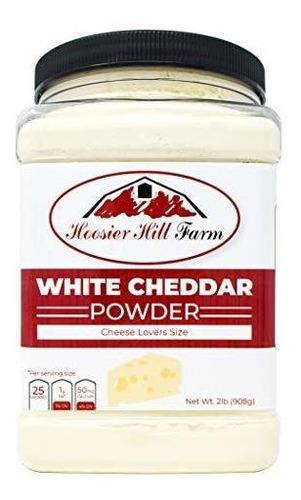 Hoosier Hill Farm Cheddar Blanco Queso En Polvo, Queso Amant
