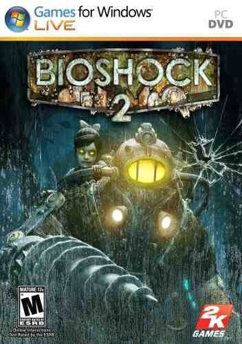 Bioshock 2 Pc Dvd Original Lacrado Joga On Line Steam