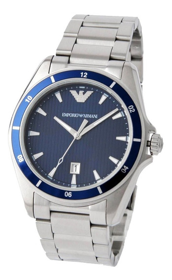 Reloj Emporio Armani Ar11100 Quartz Acero Inoxidable 44mm