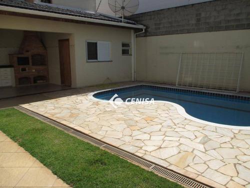 Casa Com 4 Dormitórios À Venda, 240 M² - Condomínio Esplendor - Indaiatuba/sp - Ca1920