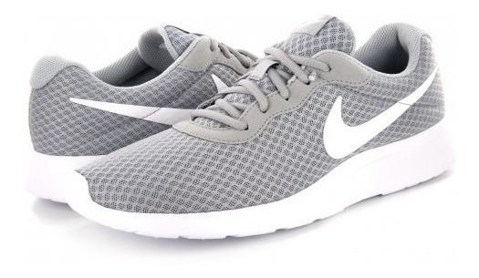 Tenis Nike 812654 010 Wolf Grey/white Nike Tanjun 25-31 Cab