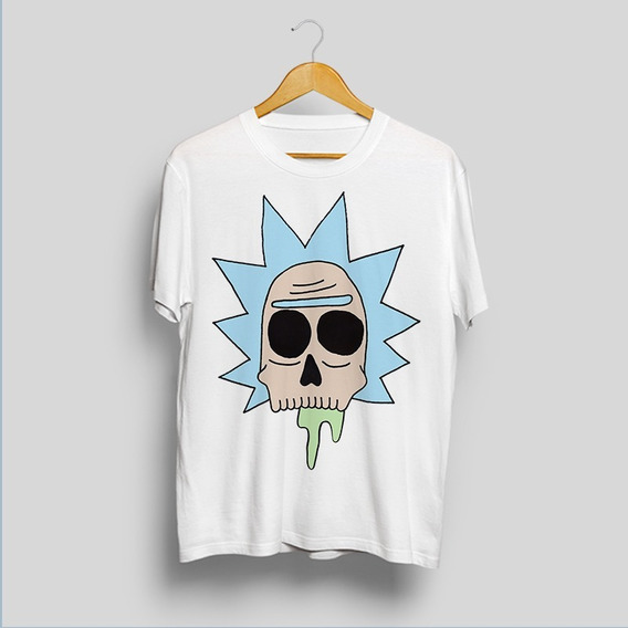 Remera De Rick And Morty , Calavera