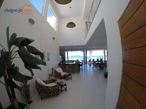 Imagem 1 de 17 de Sobrado Com 4 Dormitórios À Venda, 350 M² Por R$ 4.500.000,00 - Praia Do Sapê - Ubatuba/sp - So0990