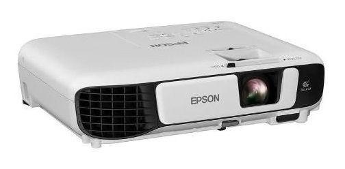 Projetor Epson Usb Hdmi Vga Wxga Mp3 Wifi Profissional W42+