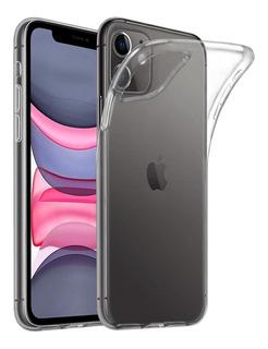 Carcasa Gel Silicona iPhone 11 + Lamina