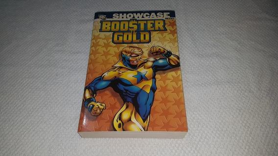Dc Hq Showcase Booster Gold V1 P&b Inglês Gladiador Dourado